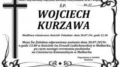 Zmarł Wojciech Kurzawa. Żył 67 lat.
