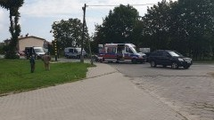 Potrącony przy malborskim cmentarzu komunalnym pieszy trafił do szpitala.