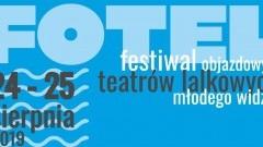Festiwal Objazdowych Teatrów Lalkowych Młodego Widza FOTEL już w ten weekend w Marzęcinie. Szczegóły na plakacie.