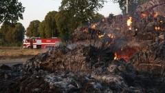 Żywioł znowu pokazał swoją siłę. Pożar słomy w Pordenowie.