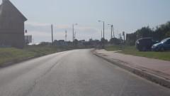 Droga do Nowej Wsi Malborskiej bez świateł.