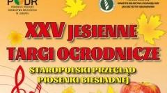 XXV Jesienne Targi Ogrodnicze w Starym Polu