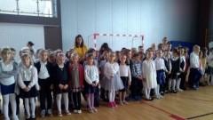 Uroczysty apel w Szkole Podstawowej nr 1 w Sztumie