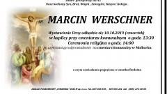 Zmarł Marcin Werschner. Żył 42 lata.