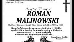 Zmarł Roman Malinowski. Żył 83 lata.
