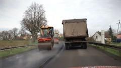 Trwa remont kolejnego odcinka DK 55 między Malborkiem a Nowym Dworem Gdańskim.