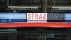 Pożar budynku w miejscowości Stary Dzierzgoń oraz zderzenie ciężarówki z autem osobowym - raport sztumskich służb mundurowych.