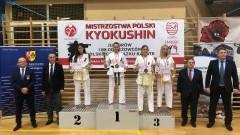 Malborski Klub Kyokushin Karate na Mistrzostwach Polski Juniorów i Młodzieżowców PZK Maków Mazowiecki 2019