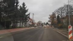 Koniec remontu drogi w Nowej Wsi Malborskiej coraz bliżej – zobacz nagranie.