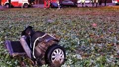 Kierowca zginął na miejscu. Policjanci apelują o ostrożność.