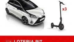 Za PIT można wygrać samochód Toyota Yaris Hybrid oraz 3 elektryczne hulajnogi.