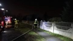 W Lisewie Malborskim wybuchł pożar w budynku gospodarczym.