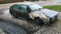 Czy było to podpalenie? Nieznane są przyczyny pożaru trzech osobówek na Rolniczej w Malborku.