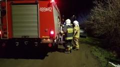 Dzięki świadkom zdarzenia nie doszło do większego pożaru.