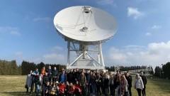 """Uczniowie II LO w Malborku """"odbyli"""" podróż w Kosmos."""