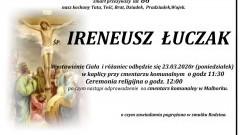 Zmarł Ireneusz Łuczak. Żył 86 lat.