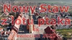 Nowy Staw w 4K z lotu ptaka. Zobacz wideo