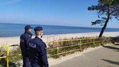 Stałe posterunki policji na Mierzei Wiślanej.