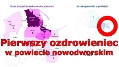W Nowym Dworze Gdańskim wyzdrowiała osoba zarażona koronawirusem.