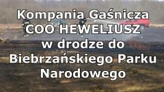 Kompania Gaśnicza z województwa pomorskiego wyruszyła na ratunek do Biebrzańskiego Parku Narodowego.
