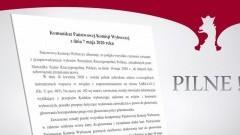 Państwowa Komisja Wyborcza: Wybory prezydenckie 10 maja nie odbędą się.