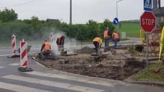 Rozpoczęła się przebudowa skrzyżowania DW515 w Nowej Wsi Malborskiej.