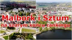 W Rankingu Zamożności Pomorskich Gmin na szarym końcu Malbork i Sztum.