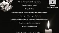 Radni Gminy Malbork składają kondolencje.