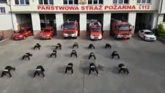#GaszynChallenge. Malborscy strażacy pompują dla Wojtusia.