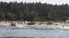 Mężczyzna utonął w Bałtyku – raport nowodworskich służb mundurowych.