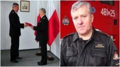 Bryg. Janusz Leszczewski nowym komendantem powiatowym PSP w Nowym Dworze Gdańskim.