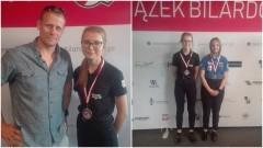 Brązowa medalistka Mistrzostw Polski w Bilard trenuje w UKS Lisewo.