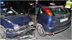 Pijany kierowca spowodował wypadek i trafił do szpitala.