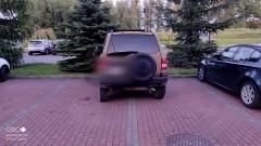 Mistrz (nie tylko) parkowania na Rolniczej w Malborku.