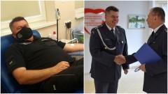 Region. Rekordzista w oddawaniu krwi pracuje w Zakładzie Karnym w Malborku.
