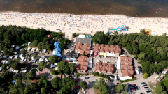 Stegna 2020. Projekt plaża z powietrza