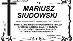 Zmarł Mariusz Siudowski. Żył 39 lat.