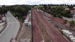 Sztum – zobacz postęp prac przy rewitalizacji trasy kolejowej nr 207