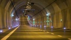 Prace serwisowe w Tunelu pod Martwą Wisłą