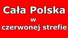 Polska w czerwonej strefie. Co to znaczy?