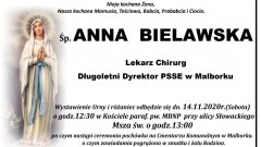 Zmarła Anna Bielawska. Żyła 86 lat.
