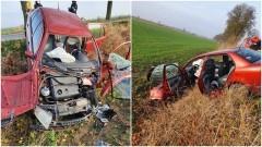 Uwaga! Utrudnienia na drodze w Świerkach po wypadku drogowym.