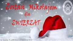 Malborski REKS zachęca – zostań Świętym Mikołajem dla zwierząt.