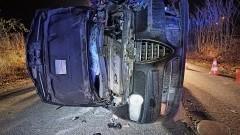 Tczew. 2 promile alkoholu miał kierowca, który zderzył się z drzewem.