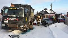 Ciężarówką wymusił pierwszeństwo i spowodował wypadek – raport sztumskich służb mundurowych.