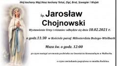 Zmarł Jarosław Chojnowski. Żył 50 lat.