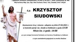 Zmarł Krzysztof Siudowski. Żył 46 lat.