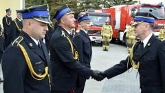 Sztum. Z okazji Dnia Strażaka wręczono odznaczenia i awanse.