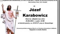 Zmarł Józef Karabowicz. Żył 92 lata.