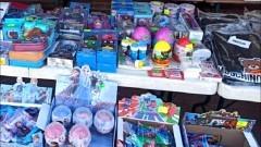 Udaremniono sprzedaż nielegalnych zabawek.